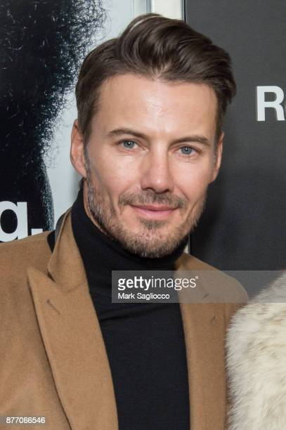 Alex Lundqvist attends the 'Roman J Israel Esquire' New York Premiere at Henry R Luce Auditorium at Brookfield Place on November 20 2017 in New York...