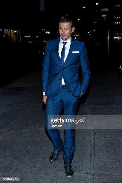 Alex Lundqvist attends V Magazine honors Karl Lagerfeld event at The Top of The Standard on October 23 2017 in New York City