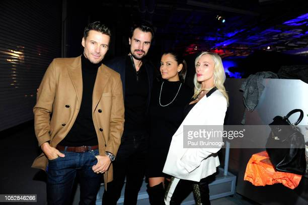 Alex Lundqvist Kane Manera Keytt Lundqvist and Jackie Astier attend Lionsgate With The Cinema Society Host The After Party For The World Premiere Of...