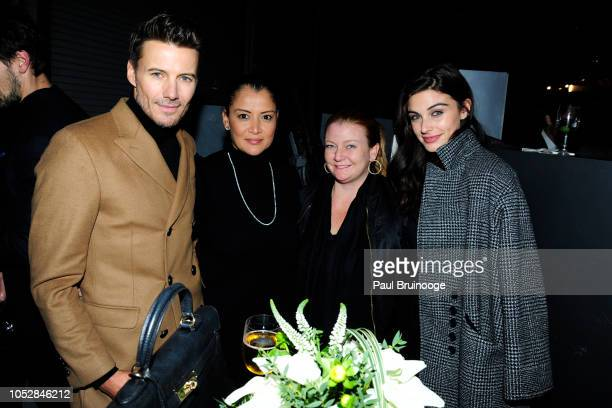 Alex Lundqvist Keytt Lundqvist and Mariah Strongin attend Lionsgate With The Cinema Society Host The After Party For The World Premiere Of Hunter...