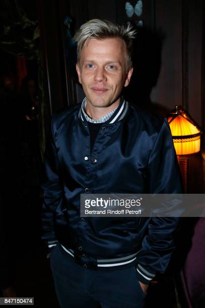 Alex Lutz attends the Reopening of the Hotel Barriere Le Fouquet's Paris decorated by Jacques Garcia at Hotel Barriere Le Fouquet's Paris on...