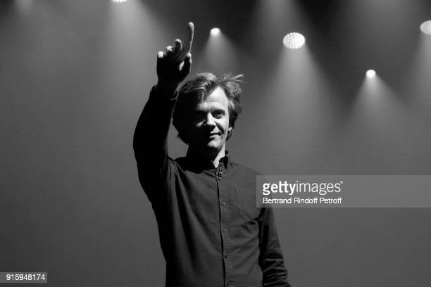 Alex Lutz performs in his One Man Show At L'Olympia on February 8 2018 in Paris France