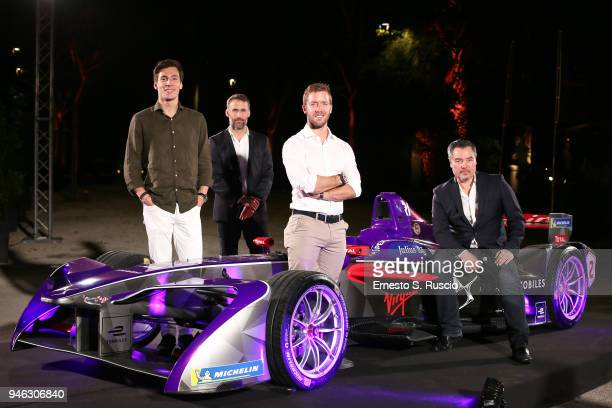Alex Lynn Aldo Fucelli Pessot del Bo' Sam Bird and Alex Tai attend Racing Goes Green an event organized by Kaspersky Lab Official Sponsor of DS...