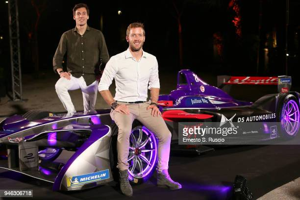 Alex Lynn and Sam Bird attend Racing Goes Green an event organized by Kaspersky Lab Official Sponsor of DS Virgin Racing Team to celebrate the...