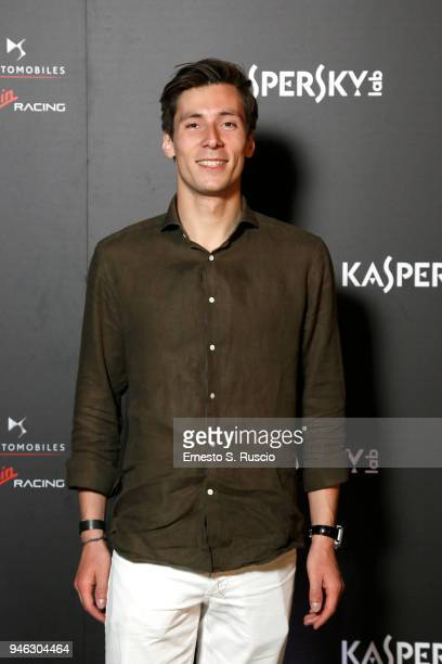 Alex Lynn attends Racing Goes Green an event organized by Kaspersky Lab Official Sponsor of DS Virgin Racing Team to celebrate the Formula E race in...