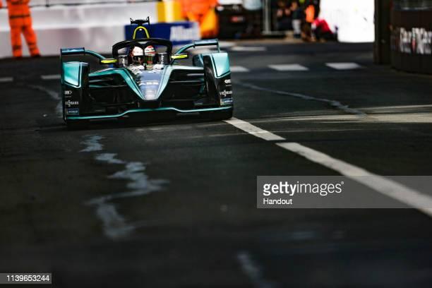 Alex Lynn Panasonic Jaguar Racing Jaguar IType 3 during the ABB FIA Formula E Championship Paris EPrix on April 27 2019 in Paris France