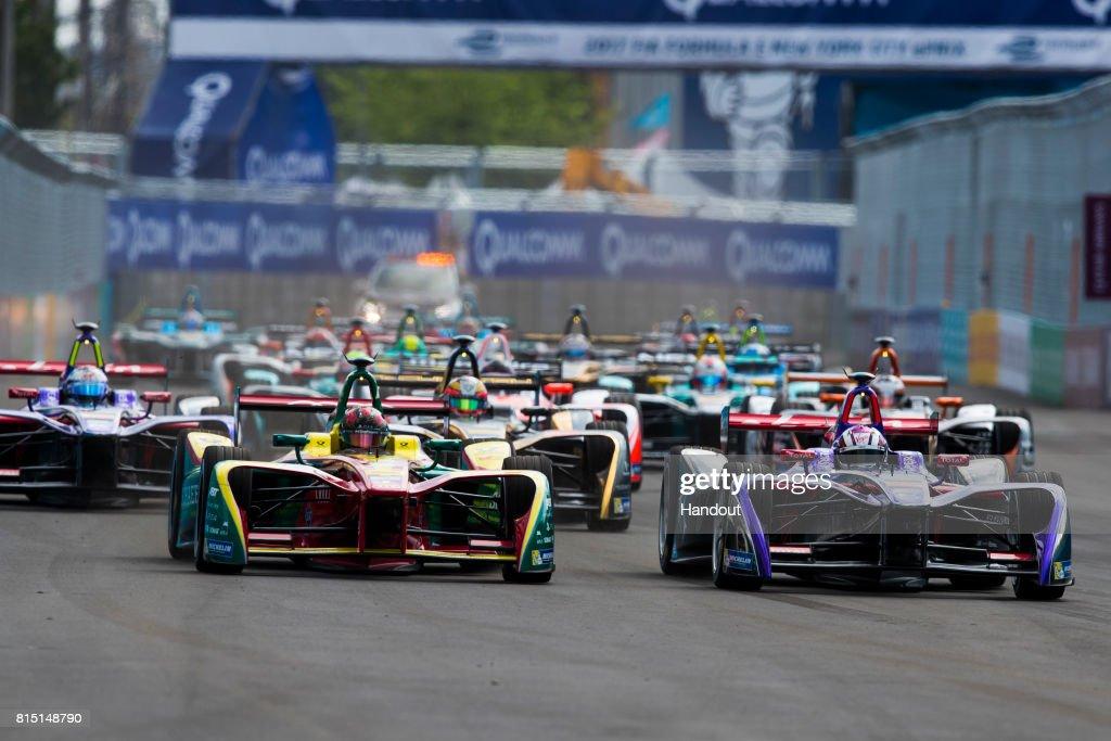 Formula E New York City ePrix : News Photo