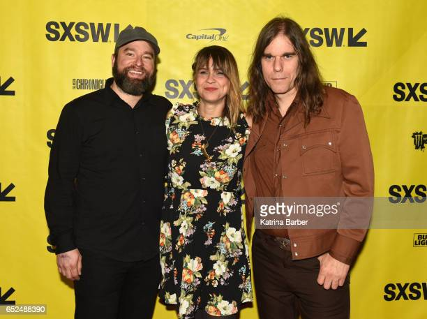 Alex Maas writer/director Karen Skloss and Graham Reynolds attend the premiere of The Honor Farm during 2017 SXSW Conference and Festivals at...