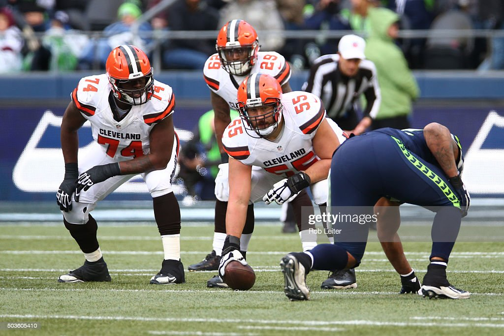 Cleveland Browns v Seattle Seahawks : News Photo