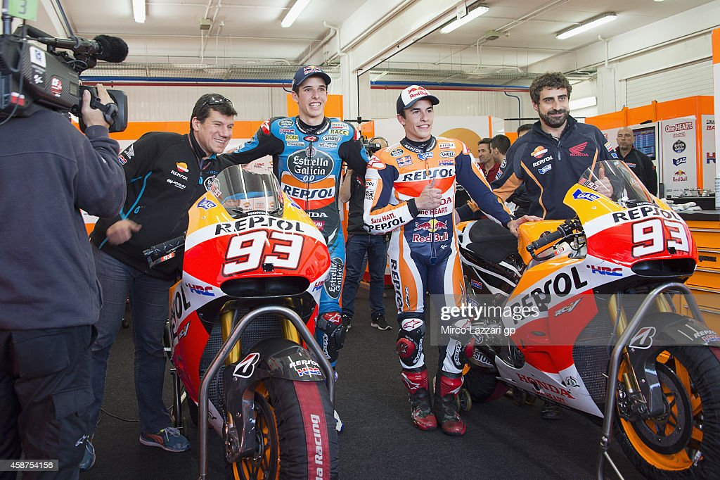 MotoGP Tests in Valencia : News Photo