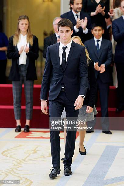 Alex Marquez attends National Sports Awards 2015 on November 17 2015 in Madrid Spain