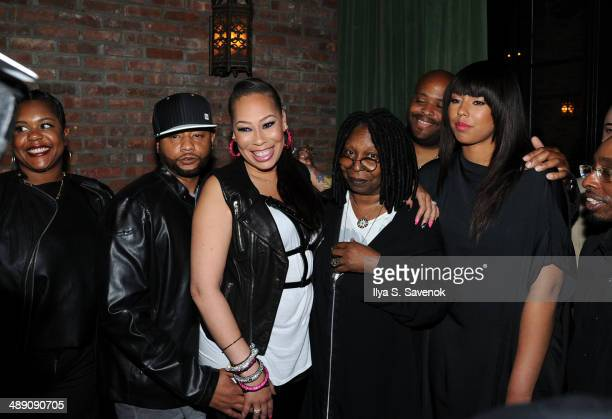 Alex Martin and Whoopi Goldberg attend Alex Martin's 40 And Fly Birthday Celebration at The Bowery Hotel on May 9 2014 in New York City