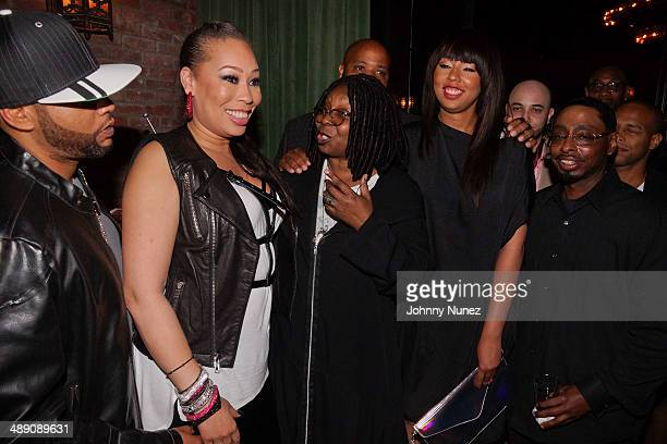 Alex Martin Whoopi Goldberg and family attend Alex Martin's 40 And Fly Birthday Celebration at The Bowery Hotel on May 9 2014 in New York City
