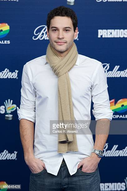 Alex Martinez attends the '40 Principales Awards' 2013 photocall at Palacio de los Deportes on December 12 2013 in Madrid Spain