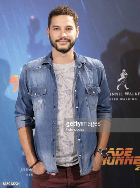 Alex Martinez attends the 'Blade Runner 2049' premiere at the Callao City Lights cinema on October 5 2017 in Madrid Spain