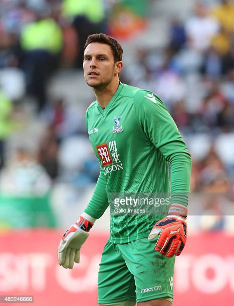 Alex McCarthy of Crystal Palace during the 2015 Cape Town Cup Final match between Crystal Palace FC and Sporting Lisbon at Cape Town Stadium on July...