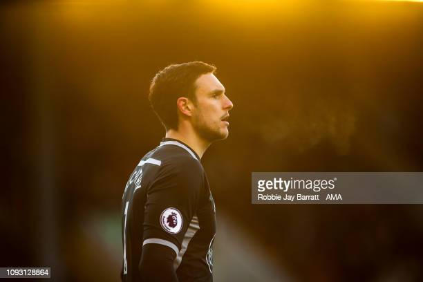 Alex McCarthy of Southampton during the Premier League match between Burnley FC and Southampton FC at Turf Moor on February 2 2019 in Burnley United...