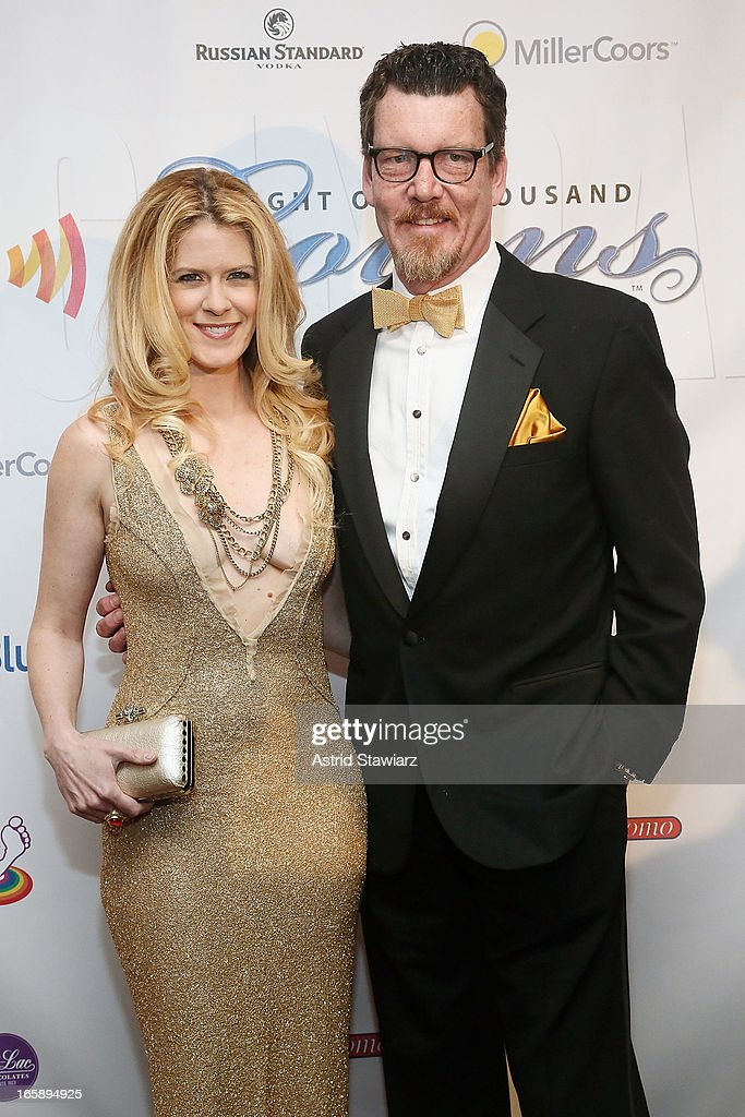 Alex McCord and Simon van Kempen attend the 27th Annual Night Of A Thousand Gowns at the Hilton New York on April 6, 2013 in New York City.