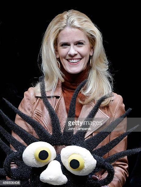 Alex McCord attends 'Mummenschanz' Press Preview at Jack H Skirball Center for the Performing Arts on November 20 2014 in New York City