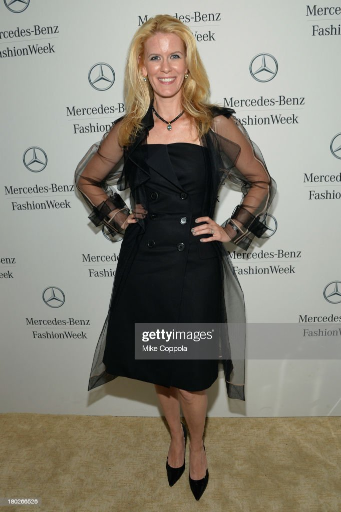 Alex McCord attends the Mercedes-Benz Star Lounge during Mercedes-Benz Fashion Week Spring 2014 on September 10, 2013 in New York City.