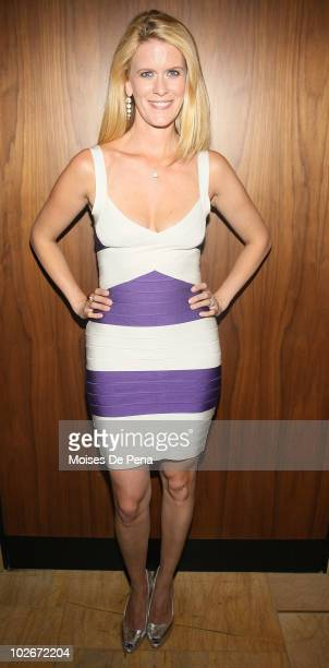 Alex McCord attends the 'Real Housewives Get Personal' book signing after party at Kastel at Trump Soho Hotel on July 6 2010 in New York City