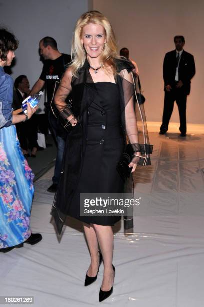 Alex McCord attends the Zang Toi fashion show during MercedesBenz Fashion Week Spring 2014 at The Stage at Lincoln Center on September 10 2013 in New...