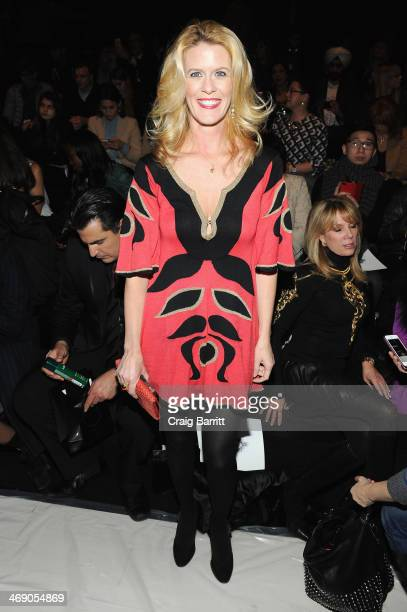 Alex McCord attends the Zang Toi fashion show during MercedesBenz Fashion Week Fall 2014 at The Salon at Lincoln Center on February 12 2014 in New...