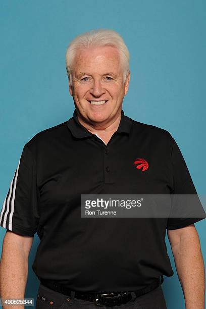 Alex McKechnie assistant coach of the Toronto Raptors poses for a photo during media day on September 28 at the Air Canada Centre in Toronto Ontario...
