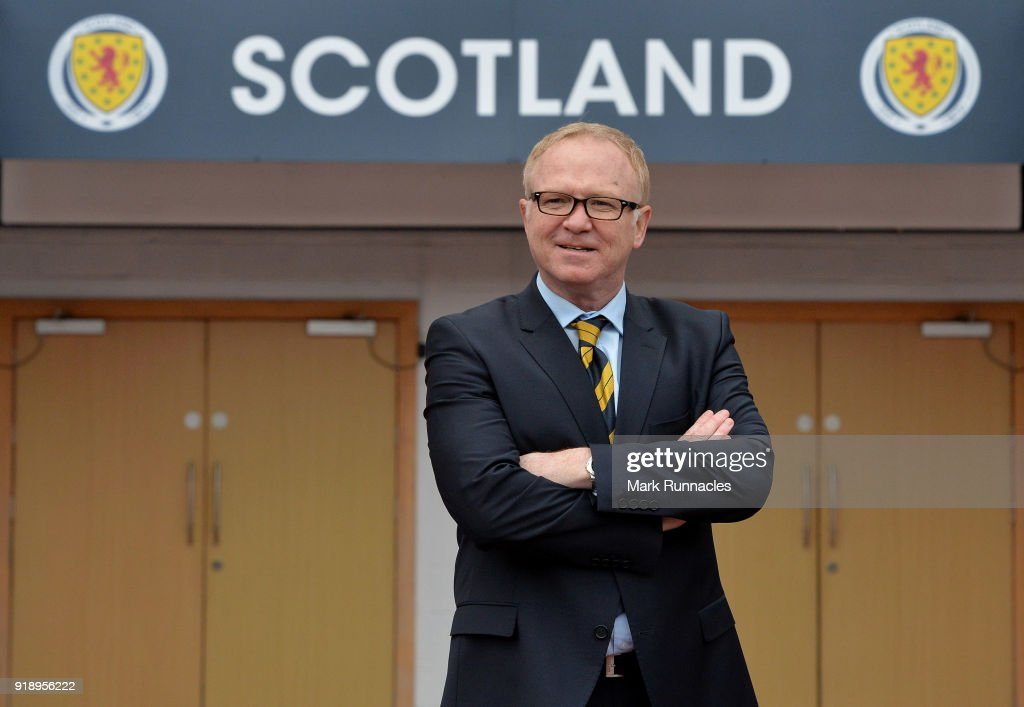 Scotland National Team announcement : News Photo