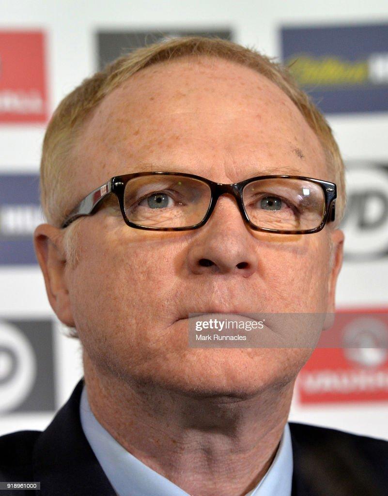 Scotland National Team announcement : News Photo