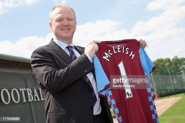 Alex McLeish new manager of Aston Villa pictured at the Aston VIlla Training Ground Bodymoor Heath on June 20 2011 in Birmingham England