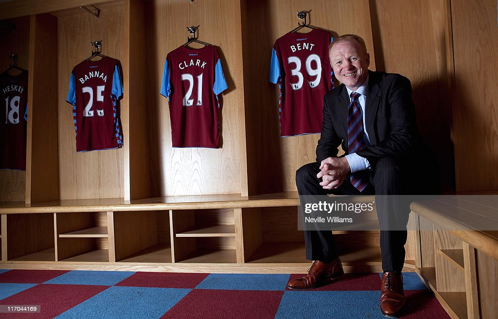 Aston Villa Unveil Alex McLeish As New Manager : News Photo