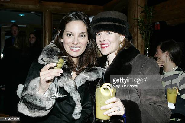 Alex Meneses and Penelope Ann Miller