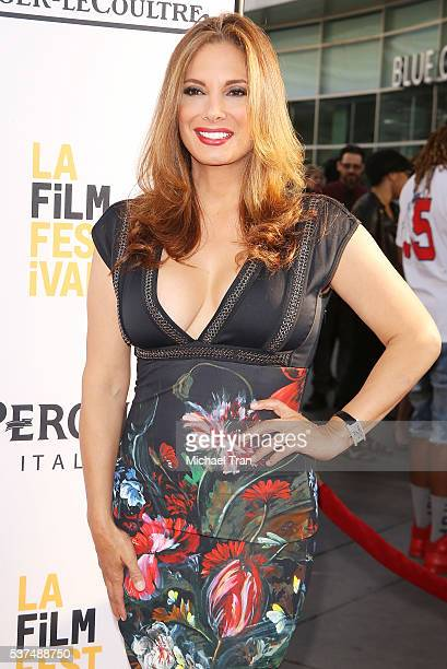 """Alex Meneses arrives at the 2016 LA Film Festival opening night premiere of """"Lowriders"""" held at ArcLight Cinemas on June 1, 2016 in Hollywood,..."""