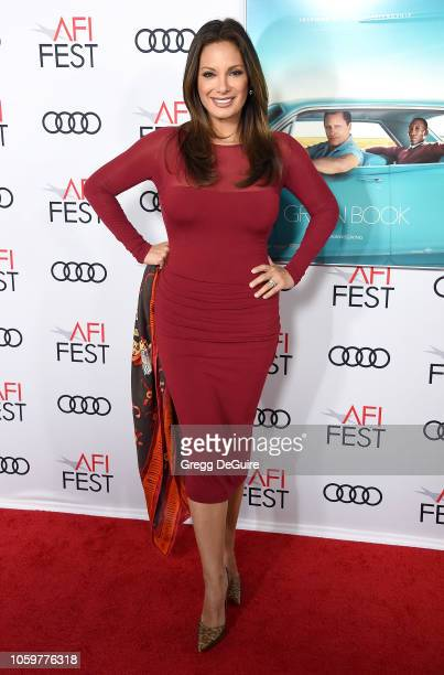 Alex Meneses arrives at the AFI FEST 2018 Presented By Audi Green Book Gala Screening at TCL Chinese Theatre on November 9 2018 in Hollywood...