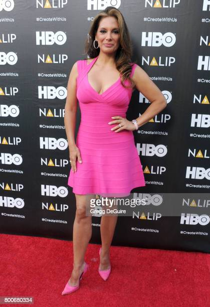 Alex Meneses arrives at the NALIP 2017 Latino Media Awards at The Ray Dolby Ballroom at Hollywood Highland Center on June 24 2017 in Hollywood...