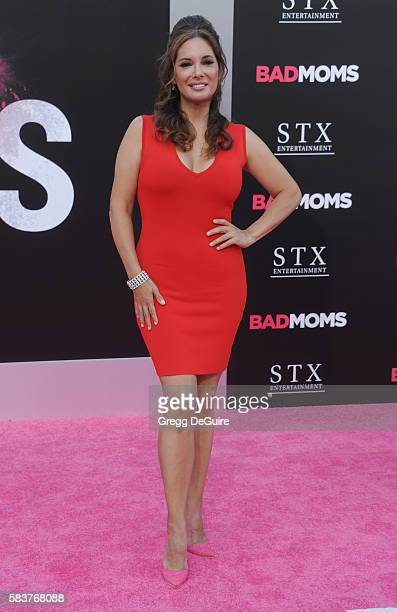 Alex Meneses arrives at the premiere of STX Entertainment's Bad Moms at Mann Village Theatre on July 26 2016 in Westwood California