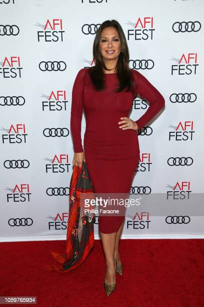 Alex Meneses attends AFI FEST 2018 presented by Audi 'Green Book' Gala Screening at TCL Chinese Theatre on November 9 2018 in Hollywood California
