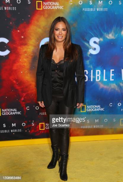 Alex Meneses attends National Geographic's Los Angeles Premiere Of Cosmos Possible Worlds at Royce Hall UCLA on February 26 2020 in Westwood...