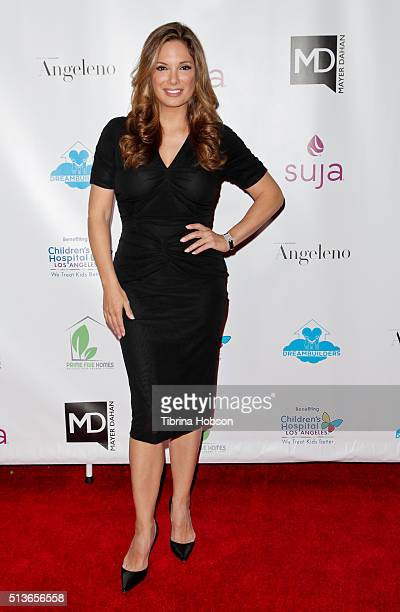 Alex Meneses attends The Dream Builders Project 3rd Annual 'A Brighter Future For Children' Charity Gala at Taglyan Cultural Complex on March 3 2016...