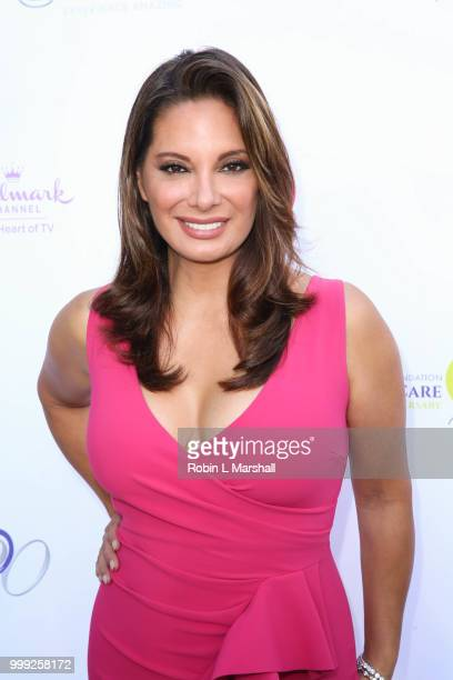 Alex Meneses attends The HollyRod Foundation's 20th Annual DesignCare Gala at Private Residence on July 14 2018 in Malibu California