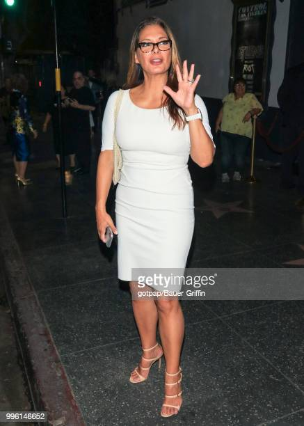 Alex Meneses is seen on July 10 2018 in Los Angeles California