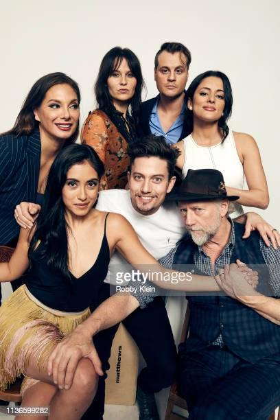 Alex Meneses, Marisol Sacramento, Magdalena Zyzak, Jackson Rathbone, Zachary Cotler, Carmela Zumbado and Xander Berkeley of the film 'The Wall of...