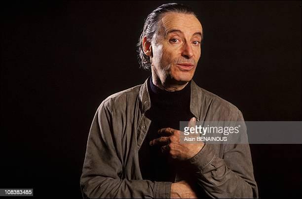 Alex Metayer's portrait in France on april 15 1990