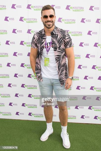 Alex Miller attends Kisstory On The Common 2018 at Streatham Common on July 21 2018 in London England
