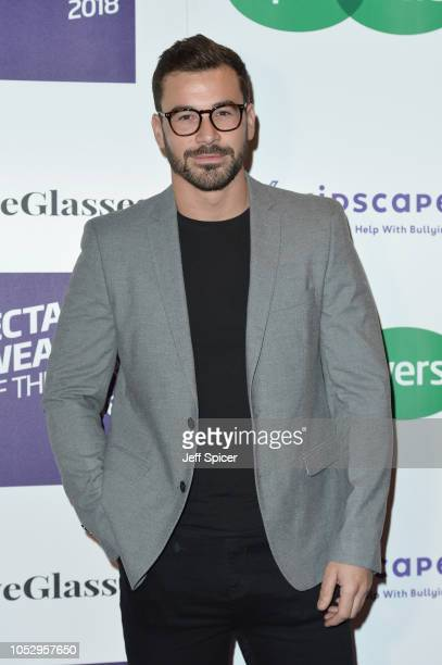 Alex Miller attends the Specsavers 'Spectacle Wearer Of The Year' at 8 Northumberland Avenue on October 24 2018 in London United Kingdom