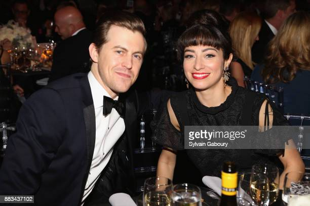 Alex Moffat and Melissa Villasenor attend The 2017 Museum Gala at American Museum of Natural History on November 30 2017 in New York City