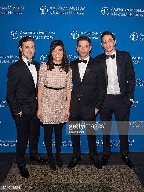 Alex Moffat Melissa Villasenor Mikey Day and Pete Davidson attend the 2016 American Museum Of Natural History Museum Gala at American Museum of...