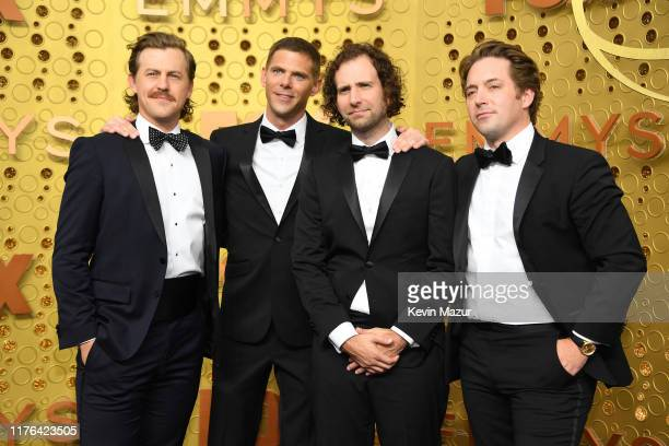 Alex Moffat Mikey Day Kyle Mooney and Beck Bennett attend the 71st Emmy Awards at Microsoft Theater on September 22 2019 in Los Angeles California