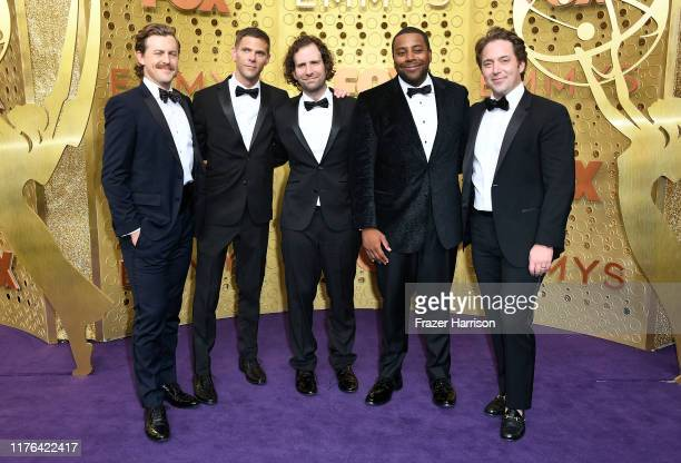 Alex Moffat Mikey Day Kyle Mooney Kenan Thompson and Beck Bennett attend the 71st Emmy Awards at Microsoft Theater on September 22 2019 in Los...